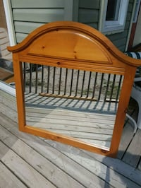 brown wooden crib with mattress Penetanguishene, L9M 1R3