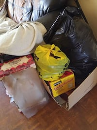 Clothes, book shelf, porcelain doll and much more!