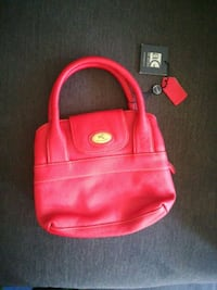 Red leather purse New Tecumseth, L9R 1E3