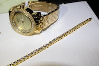 5mm ICED OUT Bust Down Tennis Chain Bracelet FLOODED Lab Sim. Diamonds Delta