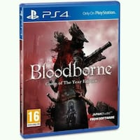 Ps4 Bloodborn Game Of Year Edition Türkçe  Izmir