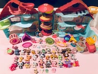 *Gigantic* LITTLEST PET SHOP Collection with Pet Lovin' Tri-Level Play Center, 42 Pets & tons of LPS accessories Maple Valley, 98038