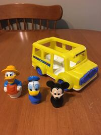 Little people Disney bus with figures Niagara Falls, L2H 1X3