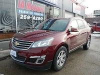 2015 CHEVROLET TRAVERSE LT *FR $499 DOWN GUARANTEED FINANCE AWD Des Moines