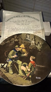 The old scout. Knowles China plate Omaha, 68108