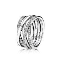 Pandora 925 entwinded ring size 8. New with tags retail $140 Manassas, 20109