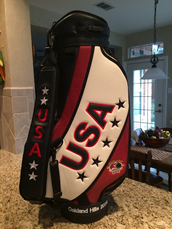 ee75786d5792 Used Ryder Cup Cart Golf Bag for sale in Plano - letgo