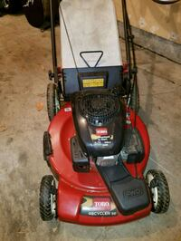 red and black Toro self propelled mower Bowie, 20721