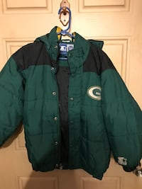 green and black zip-up jacket Knoxville, 37912