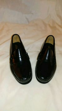 All leather Penney loafers w/skid resist. Charlton, 01507