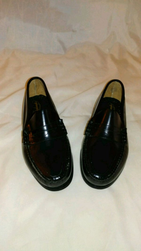 All leather Penney loafers w/skid resist. b255a139-3096-423c-9a1c-a57ba2f1ab7b