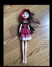 Ever After Cerise Daughter of Little Red Riding Hood Doll Used Tinley Park