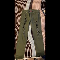 T&Y green jeans