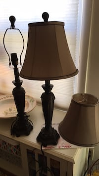 2 table lamps. NEW Claremont, 28610