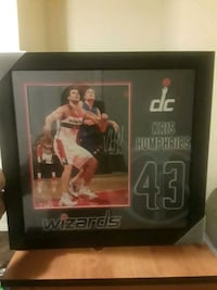 Signed picture of Kris Humphries Washington, 20019