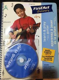 learn & play guitar disc with manual