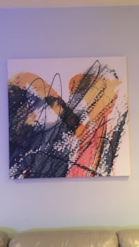 Two (2) 40x40 Abstract Art Canvases Hyattsville, 20785