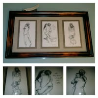 NEW WITH TAGS: hallmark multi sketch print GREAT FOR A MOTHER'S DAY GI