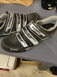 Shimano Cycling shoes with pedals size 12 Vancouver, V5Y 2C3