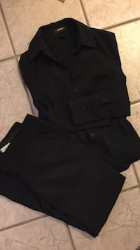 black dress shirt and trousers Costa Mesa, 92627