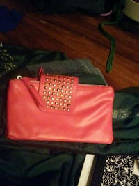 women's red leather bag Lithia Springs, 30122