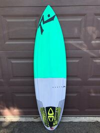 green and blue surf board Oceanside, 92057