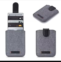 Universal Lock 5 Pull Credit Card Holder Cell Phone Wallet Adhesive  Union City, 07087