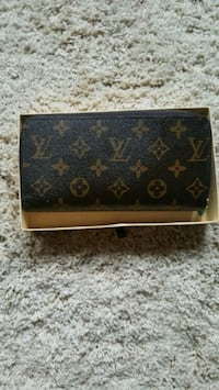 black and brown Louis Vuitton leather wallet Edmonton, T6J