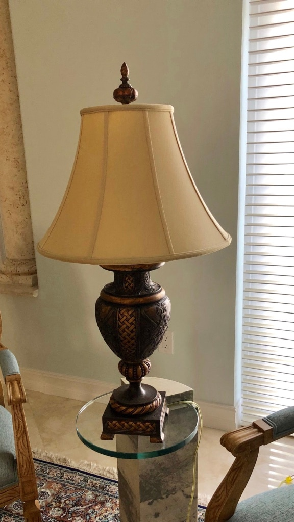 used nwt kate spade black white lamps for sale in fort lauderdale rh us letgo com