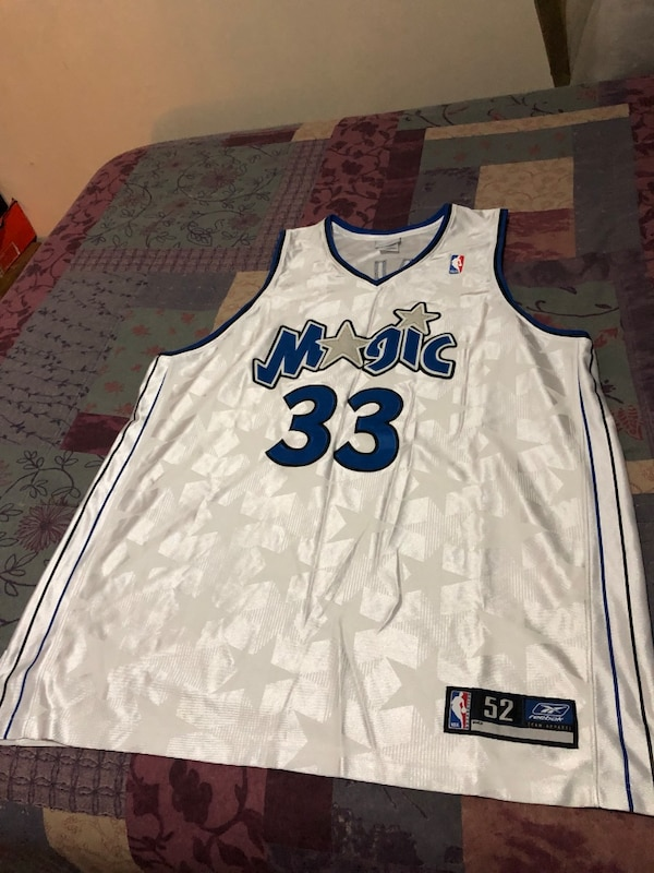 new product 50c0b a038e Authentic Orlando Magic Basketball Jersey; Home Colors