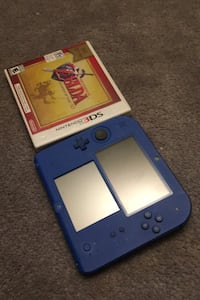 2DS with Zelda and charger
