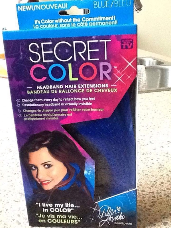 Used Secret Color Headband Hair Extensions For Sale In Calgary Letgo