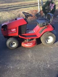 red and black ride-on mower Dover, 02030