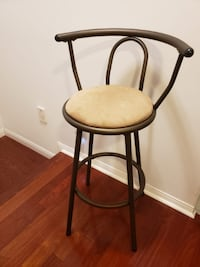 Two excellent condition bar stools asking $60 for TWO OBO