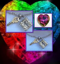 Lock & Key Necklace Free w/purchase Happy Valley, 97086