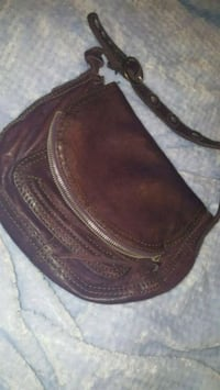 LUCKY italian leather purple purse EUC  Stratford, N5A 7L7