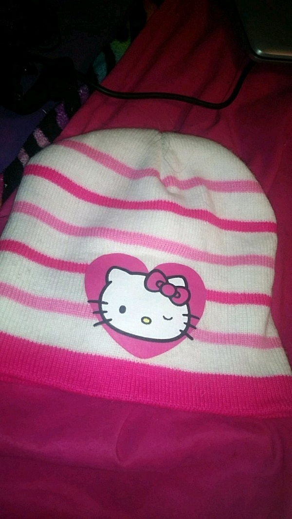 2410b607de45a Used child s hello kitty™ beanie for sale in Tacoma - letgo