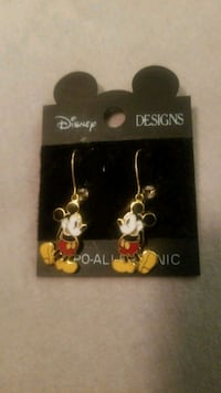 Mickey Mouse Earrings Scotch Plains, 07076