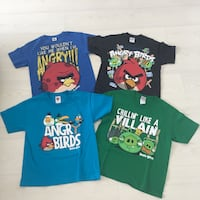MAGLIETTE BAMBINO ANGRY BIRDS TG. S