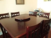 9 piece dining table set Mississauga, L4T 3H7