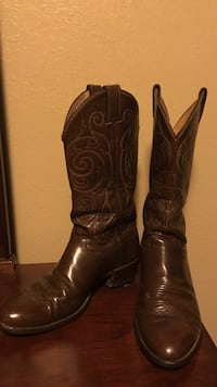 Justin western boots, 8 size, brown Су-Фоллс, 57108