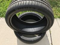 Continental Conti sport contact size 255/35/19 Summer tires brand new only 100 miles Land O' Lakes, 34639