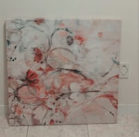 Floral Painting on Canvas Vancouver, V5R