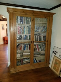 Bookcase with French Doors ASHBURN