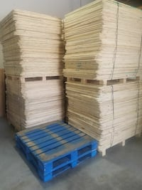 Pallet of 80 half sheets of plywood