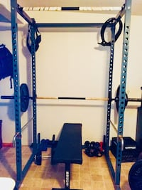 Power rack for squat/ bench press/ weight lifting
