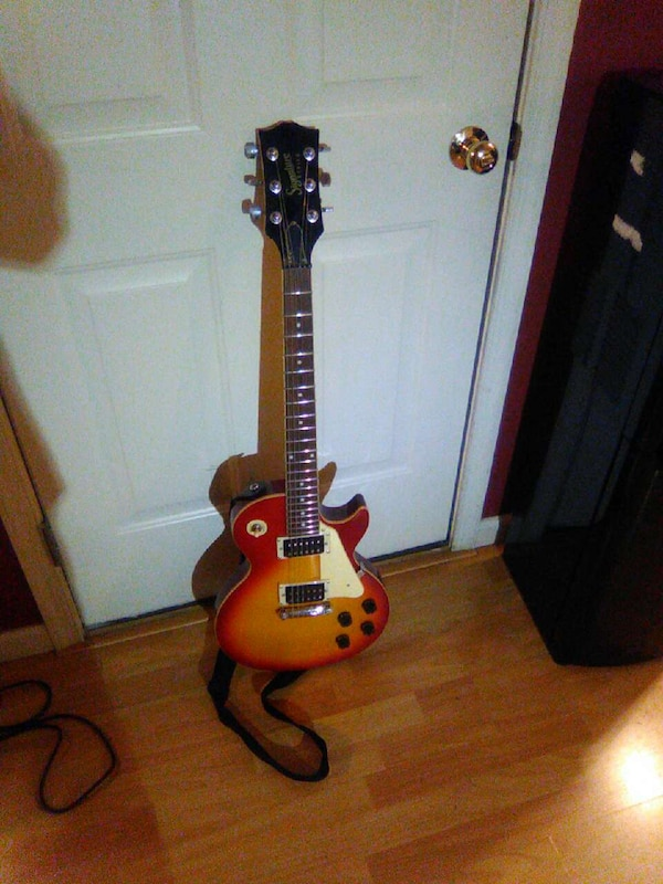 used signature series gibson electric guitar for sale in lancaster letgo. Black Bedroom Furniture Sets. Home Design Ideas