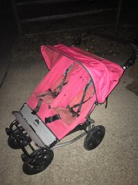 Mountain buggy double jogging stroller 75 Firm