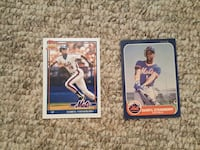 Choice of Darryl Strawberry cards Leesburg, 20175