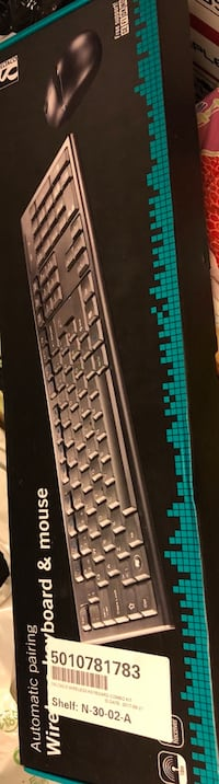 DELTACO WIRELESS KEYBOARD AND MOUSE - 100 NKR Oslo, 0365